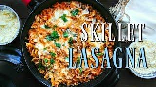 SKILLET LASAGNA (recipe)