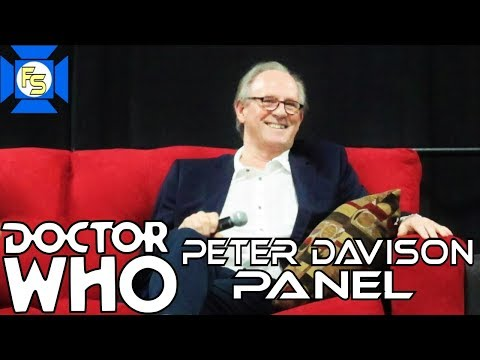 Peter Davison Panel at Great Philly Comic Con 2018  dom Spotlite
