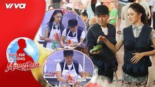 """Hương Giang """"phục sát đất"""" tài nấu ăn của Trường Giang - """"người chồng đảm đang nhất showbiz Việt"""""""