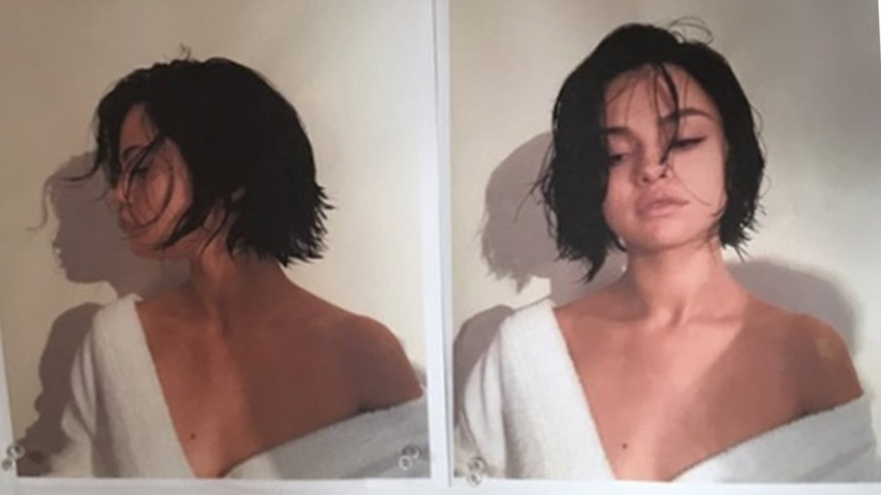 selena gomez chops hair