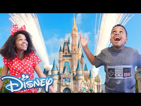 Thumbnail: Shiloh And Shasha GO TO DISNEYLAND! - Shasha and Shiloh - Onyx Kids