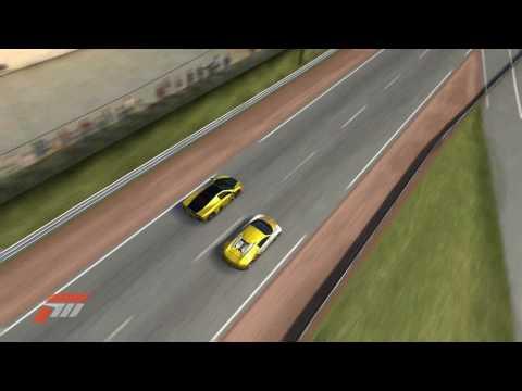 Forza 3: Modified Bugatti Veyron vs SSC Ultimate Aero Drag Race
