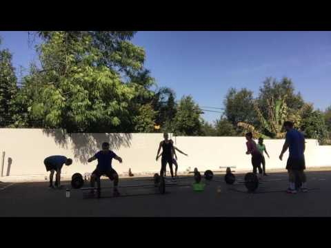 Woman's day wod - outdoors