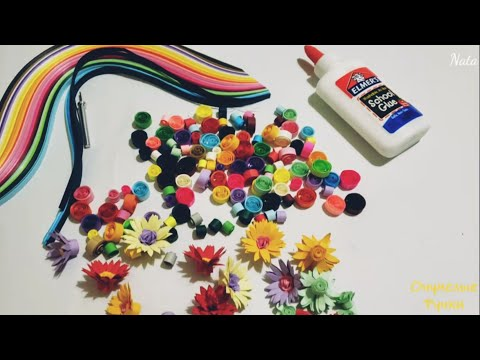 Как сделать рамку для.  Квиллинг декор. How To Make A Foto Frame. Cardboard Crafts. Quilling Decor.