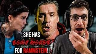 """Showing My Mom RAMMSTEIN for the FIRST TIME - """"Amerika"""" (REACTION!!)"""