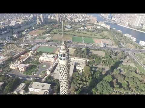 Soaring over Cairo Tower