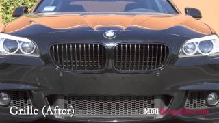 2011 f10 bmw 535i recieves painted calipers other modifications that make a huge difference