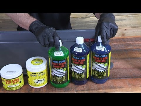 Brine Your Baits To Save Money & Catch More Fish.