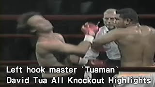 Left hook master Tuaman David Tua all Knockout Highlights