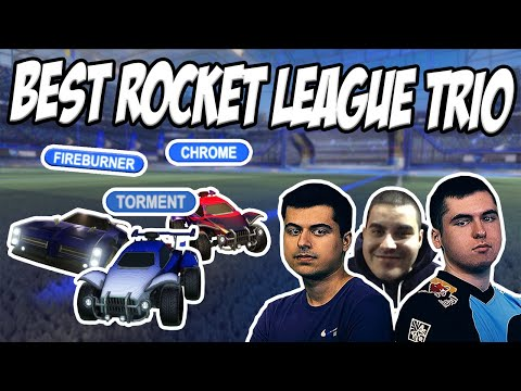 THE BEST TRIO IN ROCKET LEAGUE IS BACK | 3s with Fireburner and Chrome thumbnail