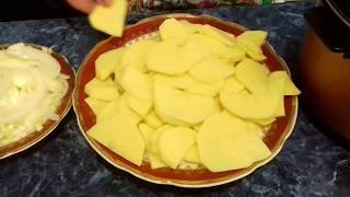 Самый ЛЕНИВЫЙ рецепт картошки Готовить Просто ! Получается ОЧЕНЬ Вкусно
