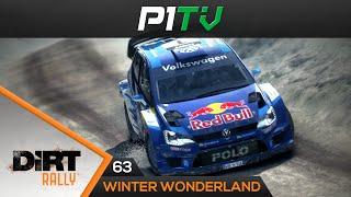 DiRT Rally #63 | Winter Wonderland! / Schweden, Polo R WRC, Hyundai [TX 599XX] [60 FPS]