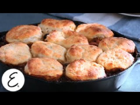 Turkey Pot Pie with Sage Biscuit Topping | Emeril Lagasse