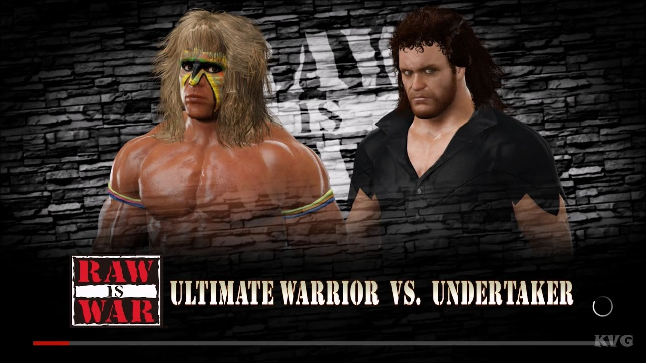 WWE 2K17 - Ultimate Warrior vs Undertaker | Gameplay (HD ...