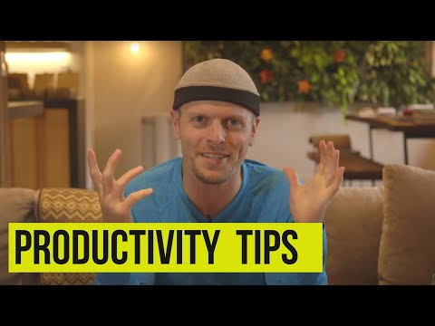 Productivity tips from Tim Ferriss | Tim Ferriss