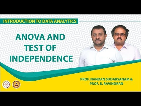 ANOVA and Test of Independence