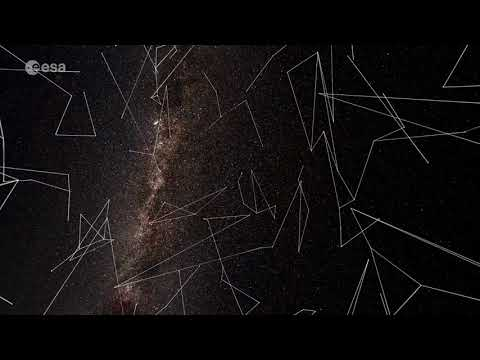 Watch the Constellations 'Dance' In ESA Gaia 3D Motion Animation