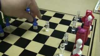 """Improvised Chess Set """"Classmate"""" by erictheelephant"""