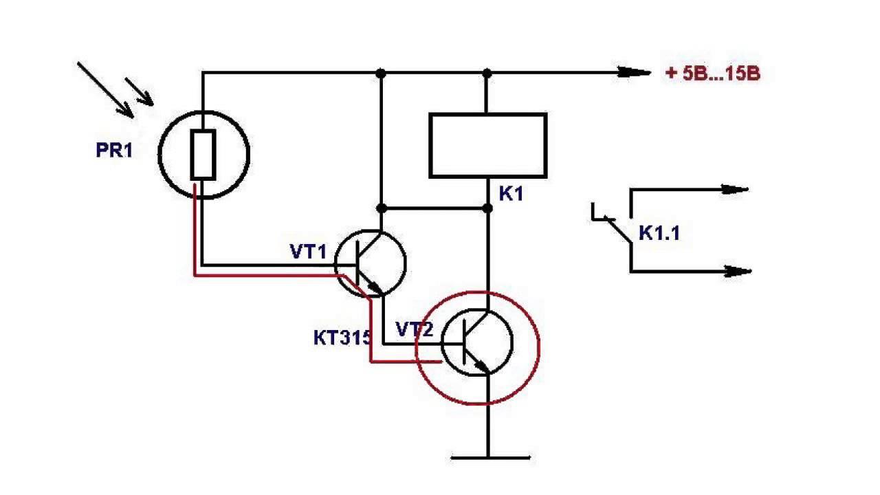 содержимого использовать транзистор вместо фотодиода пошаговым рекомендациям