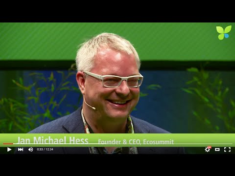ECO15 Berlin: Jan Michael Hess Ecosummit