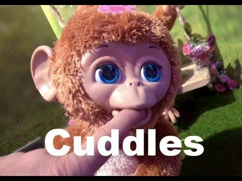 Furreal Friends Cuddles My Giggly Monkey Youtube