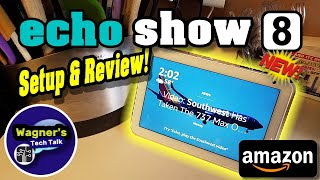 Echo Show 8 (Amazon): Unbox, Setup, Demo and Review in 10 minutes