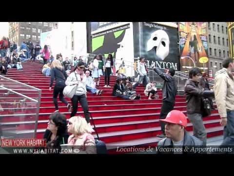 """New York - """"Le Long de Broadway"""": Visite Guidée de Times Square, Manhattan"""
