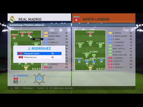 PES 2016 | My ideal formation for Real Madrid | 89% wins