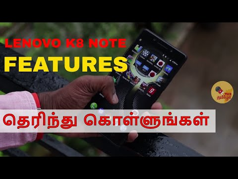 Lenovo K8 Note Features, Tips and Tricks Review, Android Nougat features in Tamil