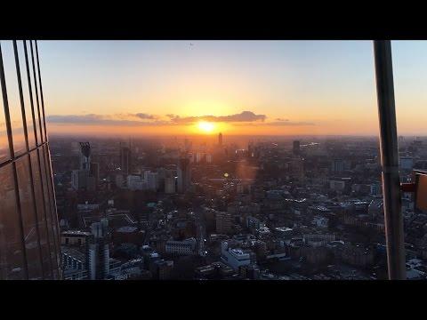 Epic sunrise & sunset from the Shard Hotel | Shangri-La Hotel