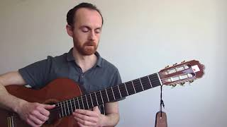 Guitar with Jono Trott -  minor pentatonic scale exercise