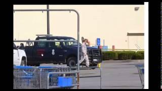 Military shows up at Wal-Mart Supercenter, Clinton MO. Missouri