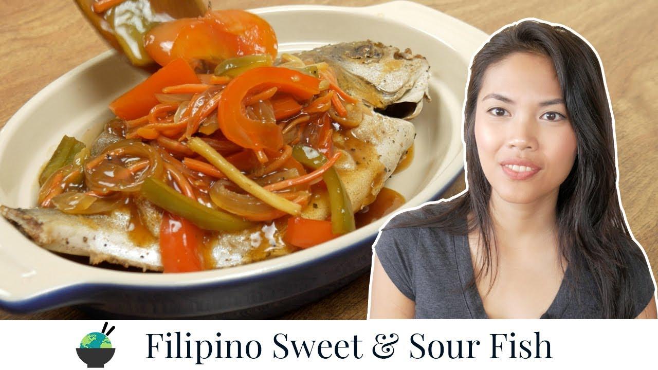 Escabeche Recipe   Filipino Sweet and Sour Fish