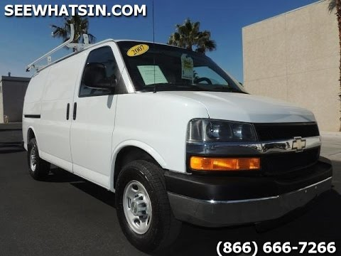 2007 Chevy Express 2500 Cargo Van 69k Miles Fully Stacked W