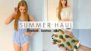 Summer Haul- New Look, Boohoo, Nike