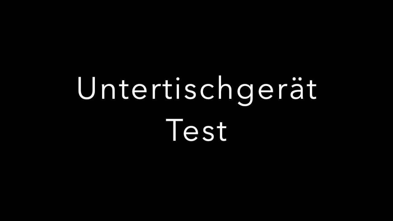 Untertischgerät Test 2018✅   Die Besten 5 Mit Niederdruck, Hochdruck Und  Für Die Küche