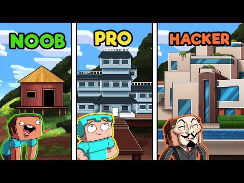 minecraft---rich-mountain-mansion!-(noob-vs-pro-vs-hacker)