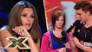 ENGAGED COUPLE BREAK UP! But can this song save their relationship? | The X Factor UK