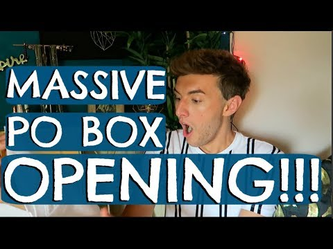 PO BOX OPENING (BIGGEST ONE YET!)