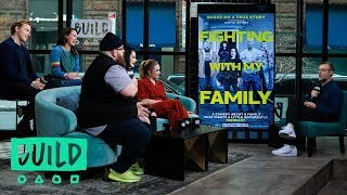 "WWE Superstar Paige Bevis & The Cast Of ""Fighting With My Family"" Talk The Film"