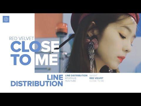 ELLIE GOULDING, DIPLO & RED VELVET - CLOSE TO ME (Red Velvet Remix) (Line Distribution)
