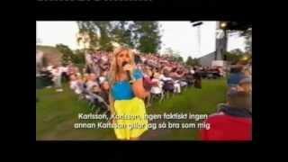 Pernilla Wahlgren - Astrid Lindgren-Medley (Allsang På Grensen 2012)