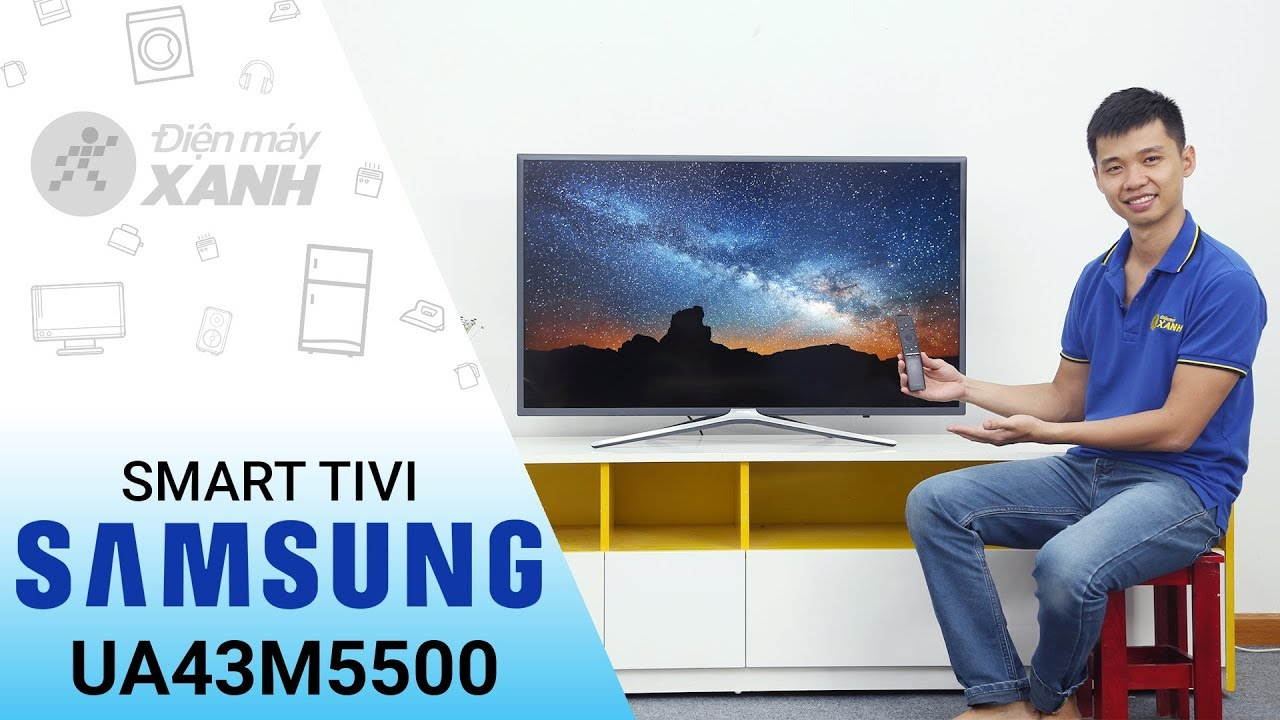 Smart Tivi Samsung UA43M5500: đẹp trên từng đường nét • Điện máy XANH