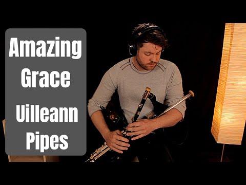 Amazing Grace - Uilleann Pipes - Chris McMullan