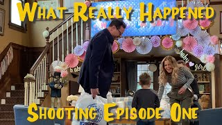 FULLER HOUSE WHAT REALLY HAPPENED SHOOTING EPISODE ONE!!