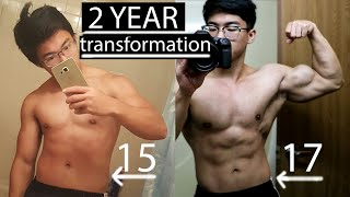 2 YEAR NATURAL TRANSFORMATION ( watch till end )