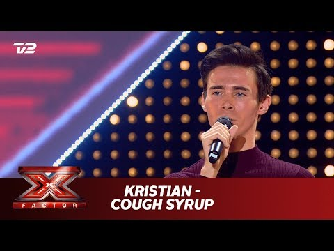 Kristian synger 'Cough Syrup' - Young the Giant (5 Chair Challenge) | X Factor 2019 | TV 2