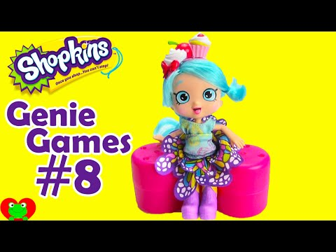 Genie Games 8 Track Fluttershy and Candy Cookie Shopkins