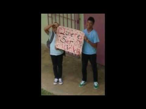 Surprise His Friend at School Asking her Out .. Quieres Ser Mi ...