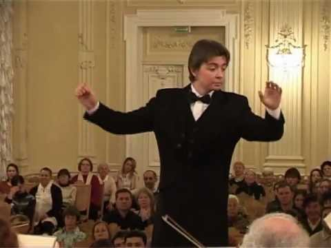 Orchestra of St.Petersburg Conservatory. Сonductor  Andrey Maznitsin.